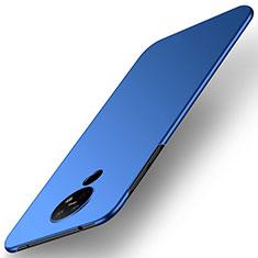 Coque Plastique Rigide Etui Housse Mat M01 pour Nokia 6.2 Bleu