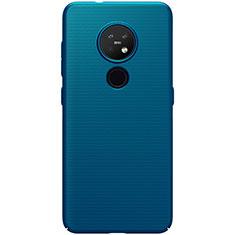 Coque Plastique Rigide Etui Housse Mat M01 pour Nokia 7.2 Bleu