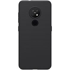 Coque Plastique Rigide Etui Housse Mat M01 pour Nokia 7.2 Noir
