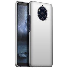 Coque Plastique Rigide Etui Housse Mat M01 pour Nokia 9 PureView Argent