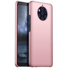 Coque Plastique Rigide Etui Housse Mat M01 pour Nokia 9 PureView Or Rose