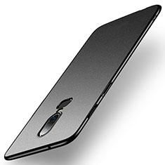 Coque Plastique Rigide Etui Housse Mat M01 pour OnePlus 6 Noir