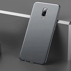 Coque Plastique Rigide Etui Housse Mat M01 pour OnePlus 6T Gris
