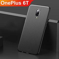 Coque Plastique Rigide Etui Housse Mat M01 pour OnePlus 6T Noir