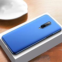 Coque Plastique Rigide Etui Housse Mat M01 pour OnePlus 7T Pro 5G Bleu