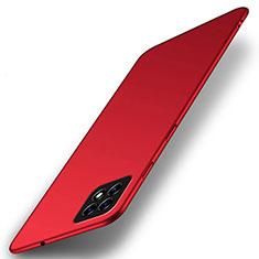 Coque Plastique Rigide Etui Housse Mat M01 pour Oppo A73 5G Rouge