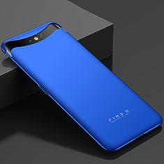 Coque Plastique Rigide Etui Housse Mat M01 pour Oppo Find X Bleu