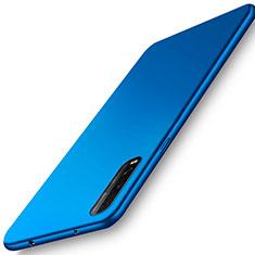 Coque Plastique Rigide Etui Housse Mat M01 pour Oppo Find X2 Bleu