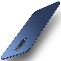 Coque Plastique Rigide Etui Housse Mat M01 pour Oppo Reno Z Bleu