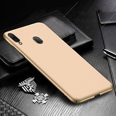 Coque Plastique Rigide Etui Housse Mat M01 pour Samsung Galaxy A30 Or