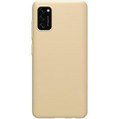 Coque Plastique Rigide Etui Housse Mat M01 pour Samsung Galaxy A41 Or