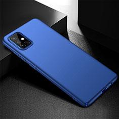 Coque Plastique Rigide Etui Housse Mat M01 pour Samsung Galaxy A51 4G Bleu