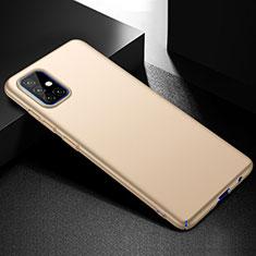Coque Plastique Rigide Etui Housse Mat M01 pour Samsung Galaxy A51 4G Or
