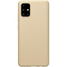 Coque Plastique Rigide Etui Housse Mat M01 pour Samsung Galaxy A51 5G Or
