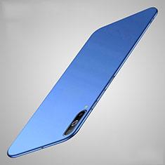 Coque Plastique Rigide Etui Housse Mat M01 pour Samsung Galaxy A70 Bleu