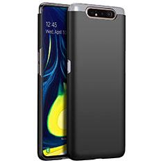 Coque Plastique Rigide Etui Housse Mat M01 pour Samsung Galaxy A80 Noir