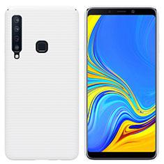 Coque Plastique Rigide Etui Housse Mat M01 pour Samsung Galaxy A9s Blanc