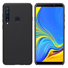 Coque Plastique Rigide Etui Housse Mat M01 pour Samsung Galaxy A9s Noir