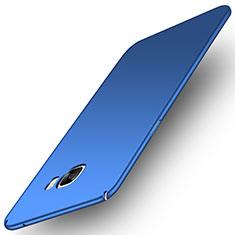 Coque Plastique Rigide Etui Housse Mat M01 pour Samsung Galaxy C7 Pro C7010 Bleu