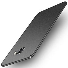 Coque Plastique Rigide Etui Housse Mat M01 pour Samsung Galaxy C7 Pro C7010 Gris
