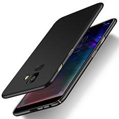 Coque Plastique Rigide Etui Housse Mat M01 pour Samsung Galaxy J6 (2018) J600F Noir
