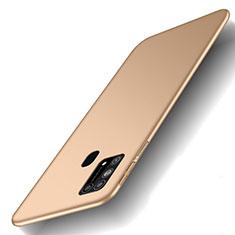 Coque Plastique Rigide Etui Housse Mat M01 pour Samsung Galaxy M21s Or