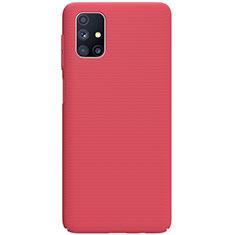 Coque Plastique Rigide Etui Housse Mat M01 pour Samsung Galaxy M51 Rouge