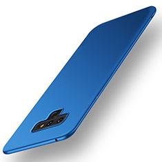 Coque Plastique Rigide Etui Housse Mat M01 pour Samsung Galaxy Note 9 Bleu