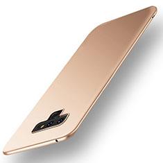 Coque Plastique Rigide Etui Housse Mat M01 pour Samsung Galaxy Note 9 Or
