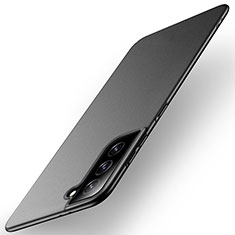 Coque Plastique Rigide Etui Housse Mat M01 pour Samsung Galaxy S21 5G Noir
