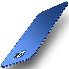Coque Plastique Rigide Etui Housse Mat M01 pour Samsung Galaxy S6 Duos SM-G920F G9200 Bleu