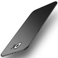 Coque Plastique Rigide Etui Housse Mat M01 pour Samsung Galaxy S6 Duos SM-G920F G9200 Noir