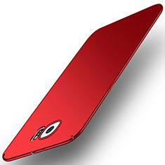 Coque Plastique Rigide Etui Housse Mat M01 pour Samsung Galaxy S6 SM-G920 Rouge
