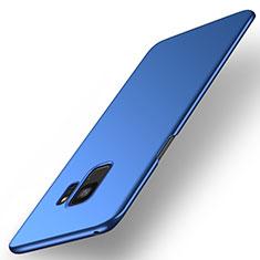 Coque Plastique Rigide Etui Housse Mat M01 pour Samsung Galaxy S9 Bleu