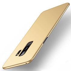 Coque Plastique Rigide Etui Housse Mat M01 pour Samsung Galaxy S9 Plus Or
