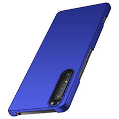 Coque Plastique Rigide Etui Housse Mat M01 pour Sony Xperia 1 II Bleu