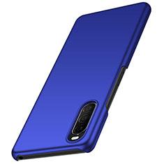 Coque Plastique Rigide Etui Housse Mat M01 pour Sony Xperia 10 II Bleu