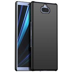 Coque Plastique Rigide Etui Housse Mat M01 pour Sony Xperia 10 Plus Noir