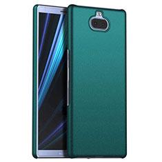 Coque Plastique Rigide Etui Housse Mat M01 pour Sony Xperia 10 Plus Vert