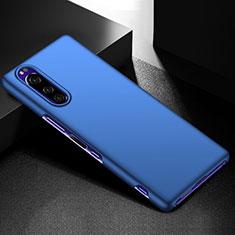 Coque Plastique Rigide Etui Housse Mat M01 pour Sony Xperia 5 Bleu