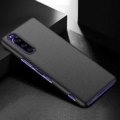 Coque Plastique Rigide Etui Housse Mat M01 pour Sony Xperia 5 Noir