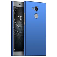 Coque Plastique Rigide Etui Housse Mat M01 pour Sony Xperia L2 Bleu