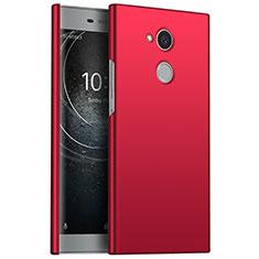 Coque Plastique Rigide Etui Housse Mat M01 pour Sony Xperia L2 Rouge