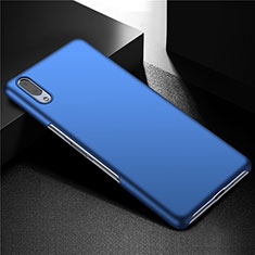 Coque Plastique Rigide Etui Housse Mat M01 pour Sony Xperia L3 Bleu
