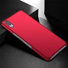 Coque Plastique Rigide Etui Housse Mat M01 pour Sony Xperia L3 Rouge