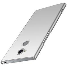 Coque Plastique Rigide Etui Housse Mat M01 pour Sony Xperia XA2 Argent