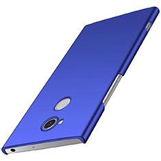 Coque Plastique Rigide Etui Housse Mat M01 pour Sony Xperia XA2 Bleu