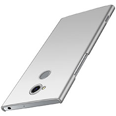 Coque Plastique Rigide Etui Housse Mat M01 pour Sony Xperia XA2 Plus Argent