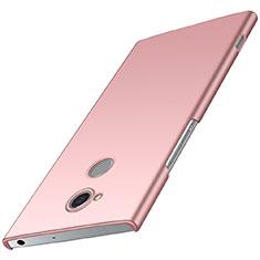 Coque Plastique Rigide Etui Housse Mat M01 pour Sony Xperia XA2 Plus Or Rose