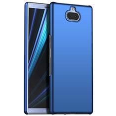 Coque Plastique Rigide Etui Housse Mat M01 pour Sony Xperia XA3 Bleu